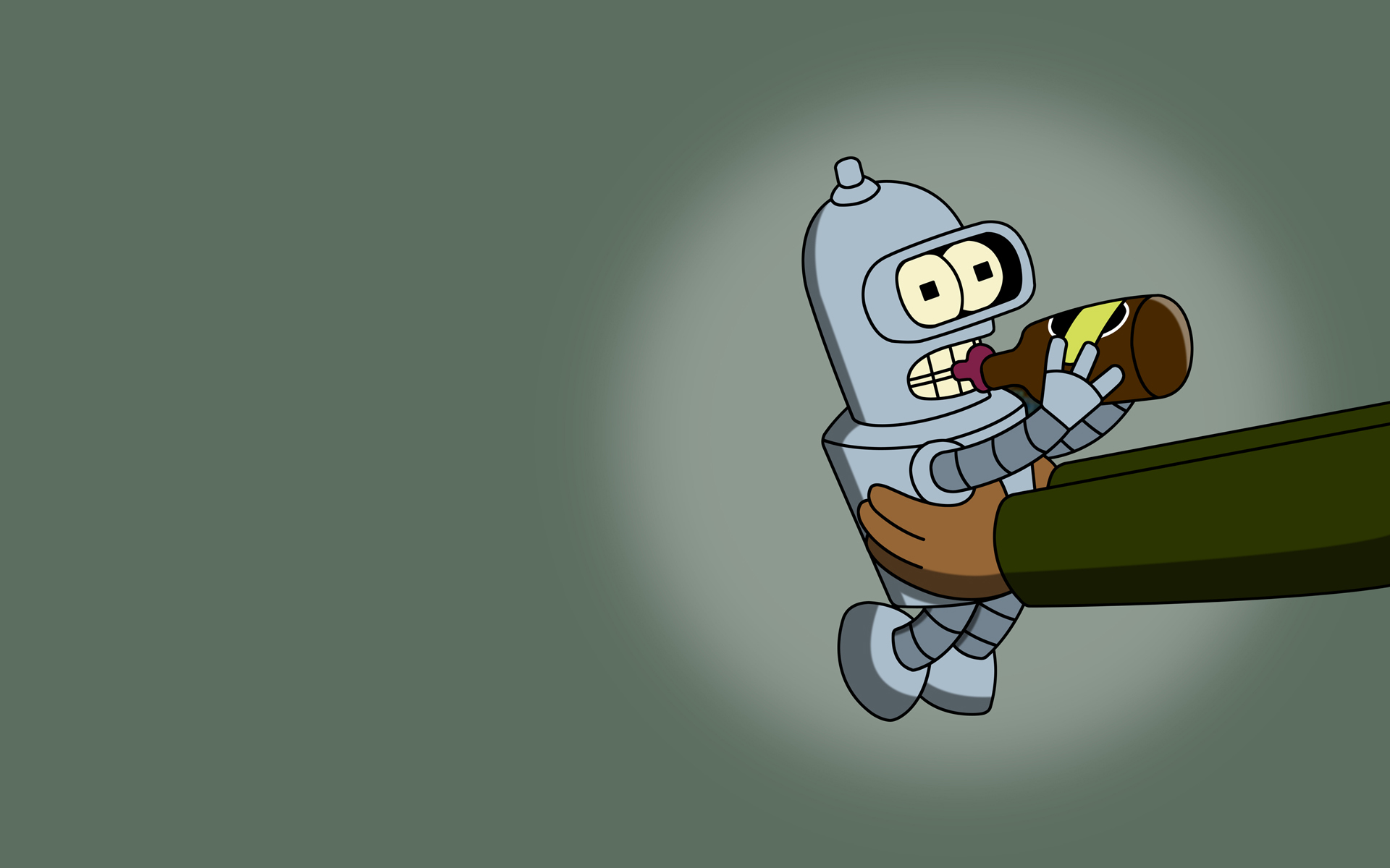 Futurama Bender HD Wallpaper
