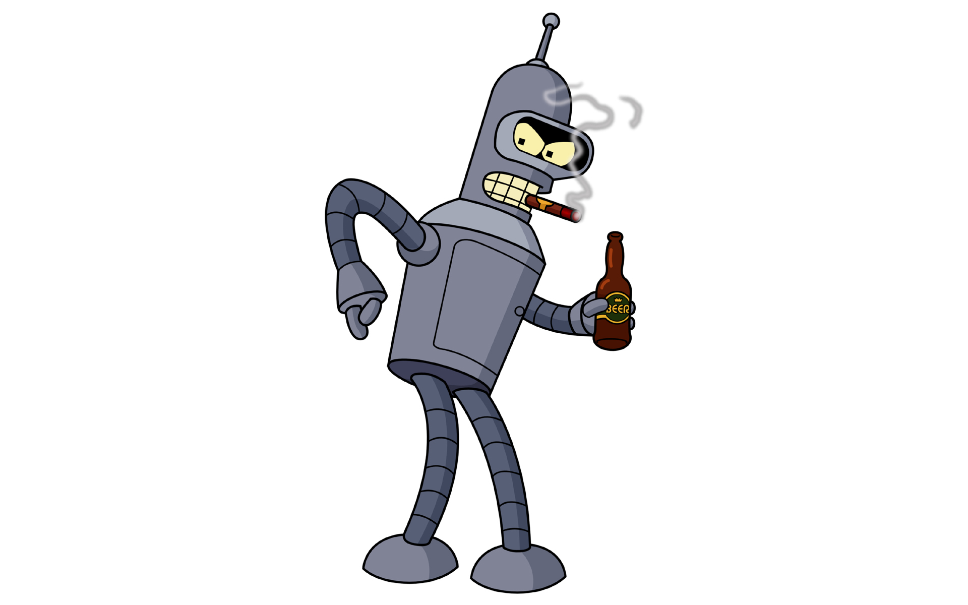 Futurama Bender Robots HD Wallpaper
