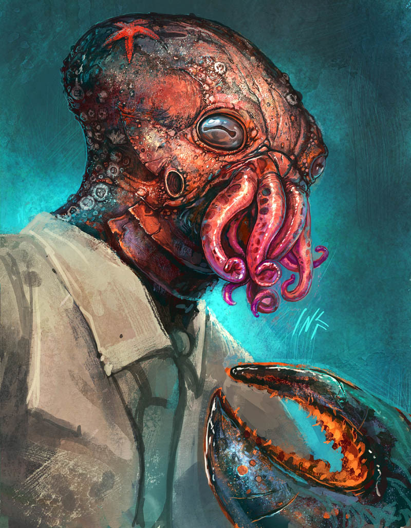 Futurama Dr Zoidberg alternative HD Wallpaper