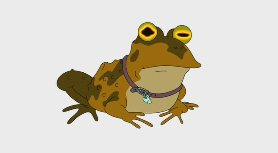 Futurama Hypnotoad Simple Background HD Wallpaper