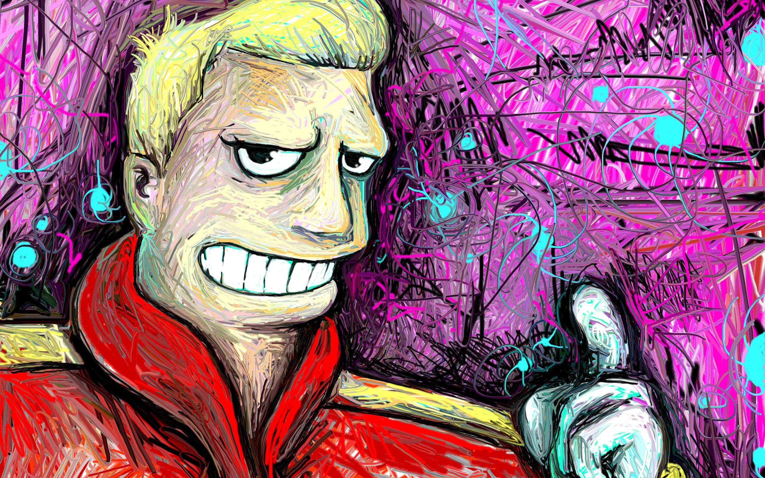 Futurama Zapp Brannigan fan HD Wallpaper