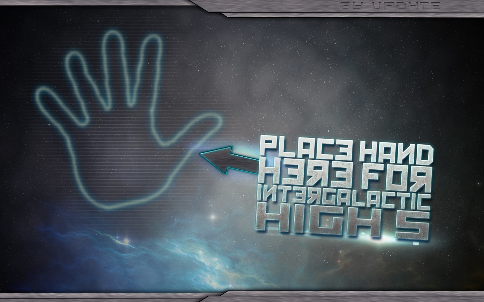 galaxies high five HD Wallpaper