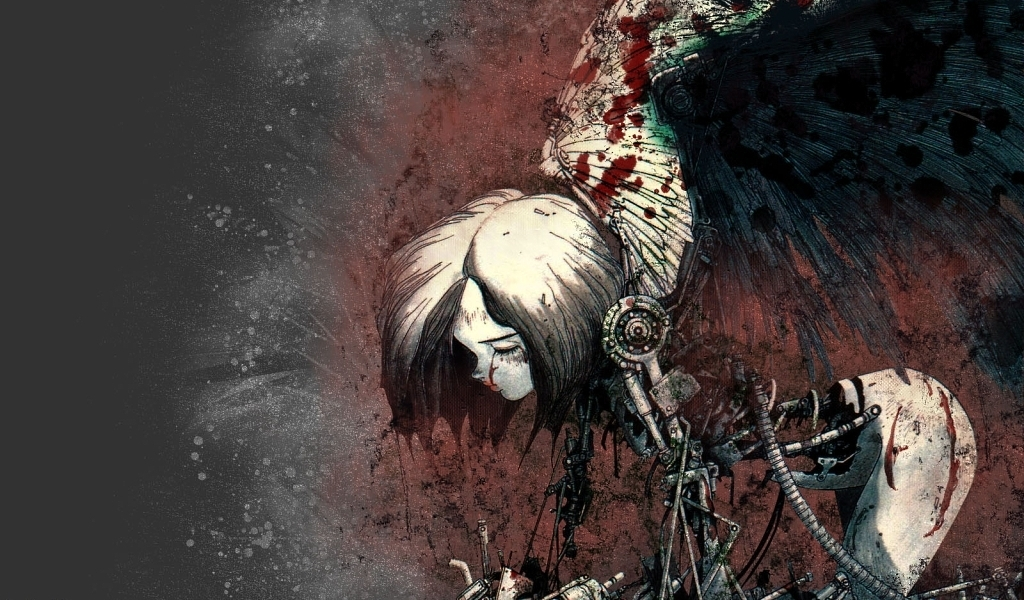 Gally Gunnm Battle Angel HD Wallpaper