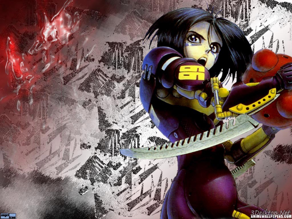 Gally Gunnm cyborgs blade HD Wallpaper