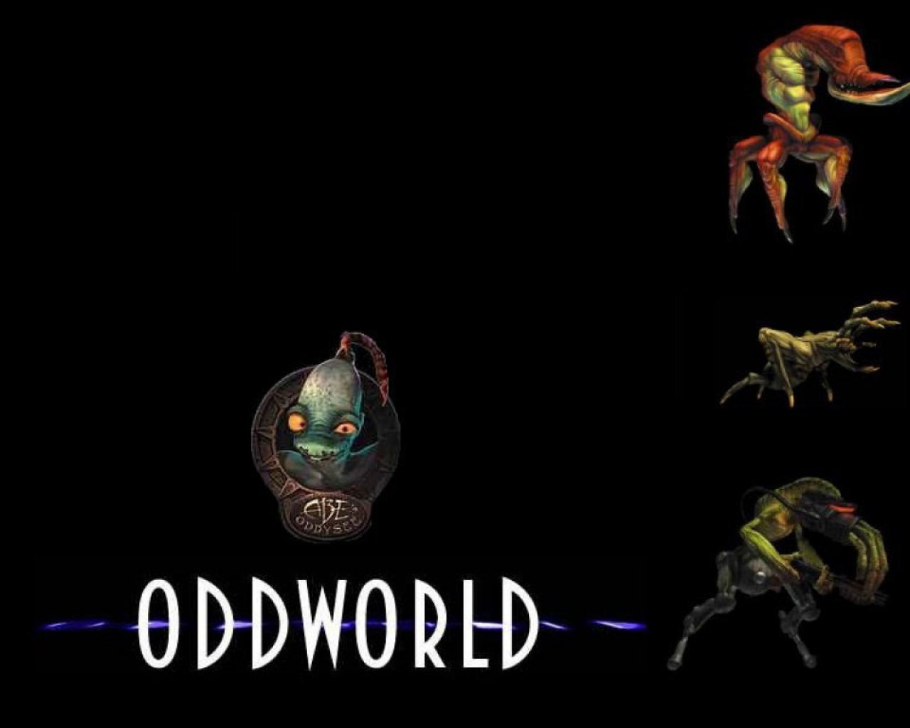 Games oddworld creatures game HD Wallpaper
