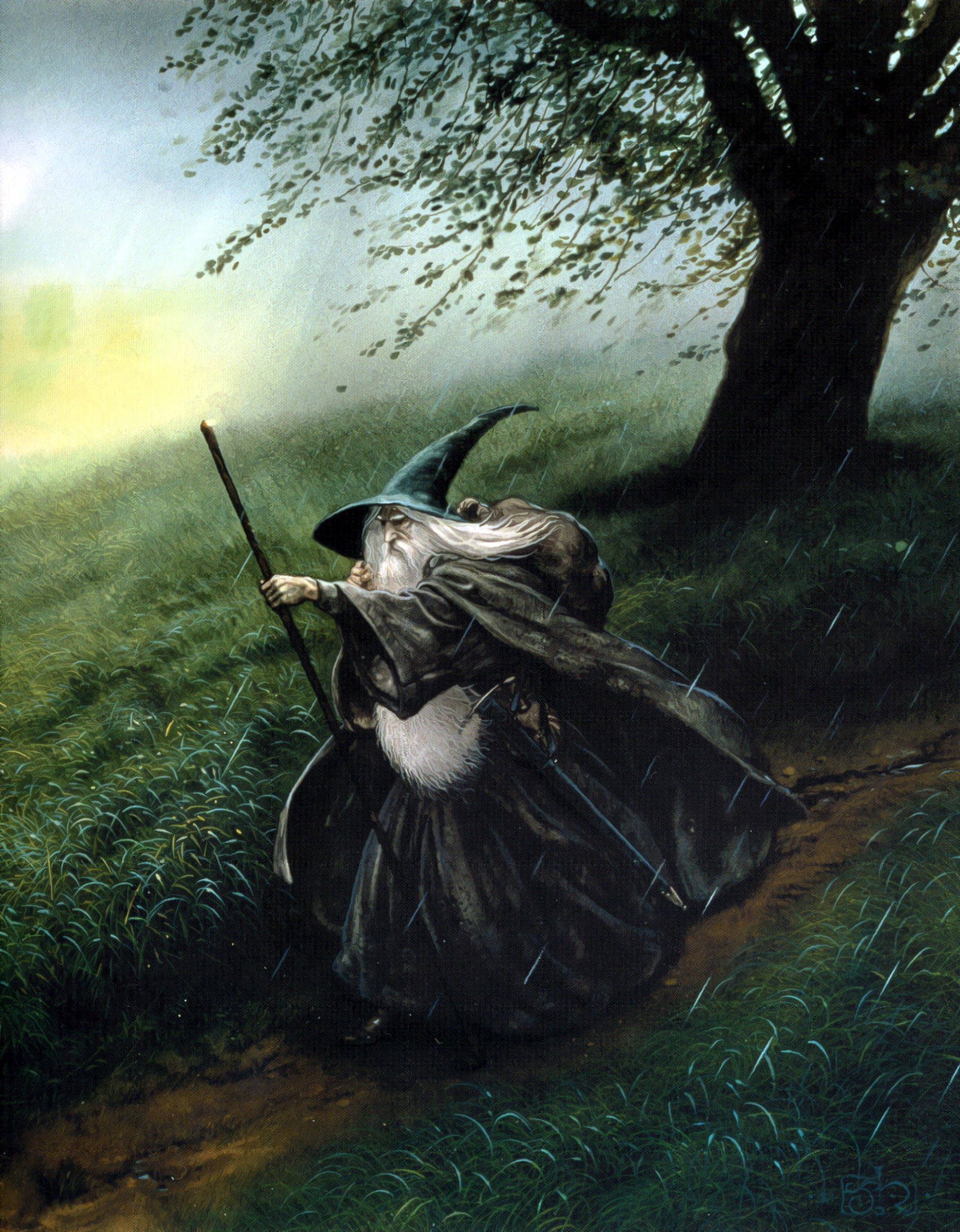 Gandalf the lord of HD Wallpaper