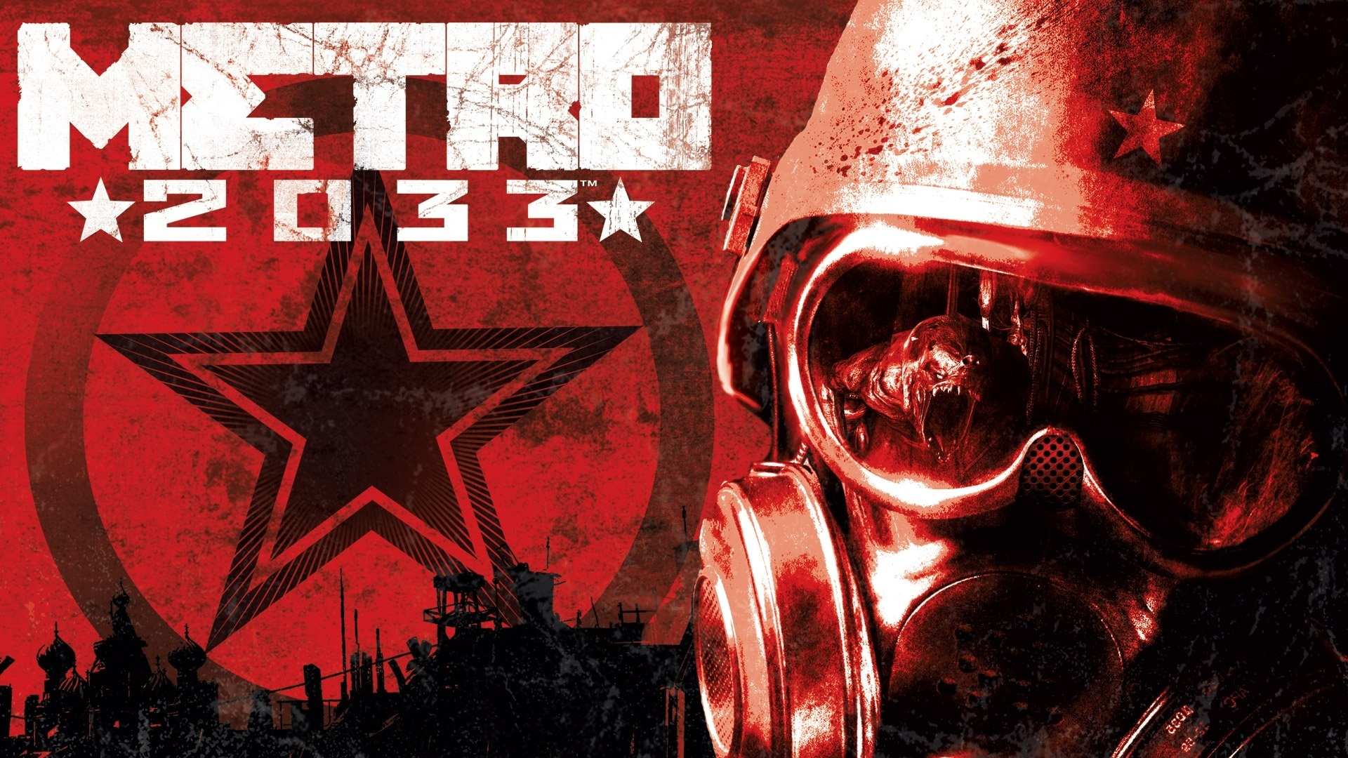 gas masks metro 2033 HD Wallpaper