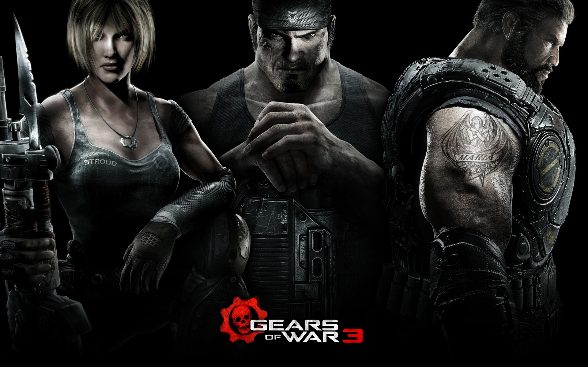 gears of war 3 HD Wallpaper