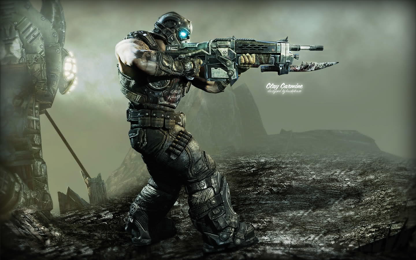 gears of war gears HD Wallpaper