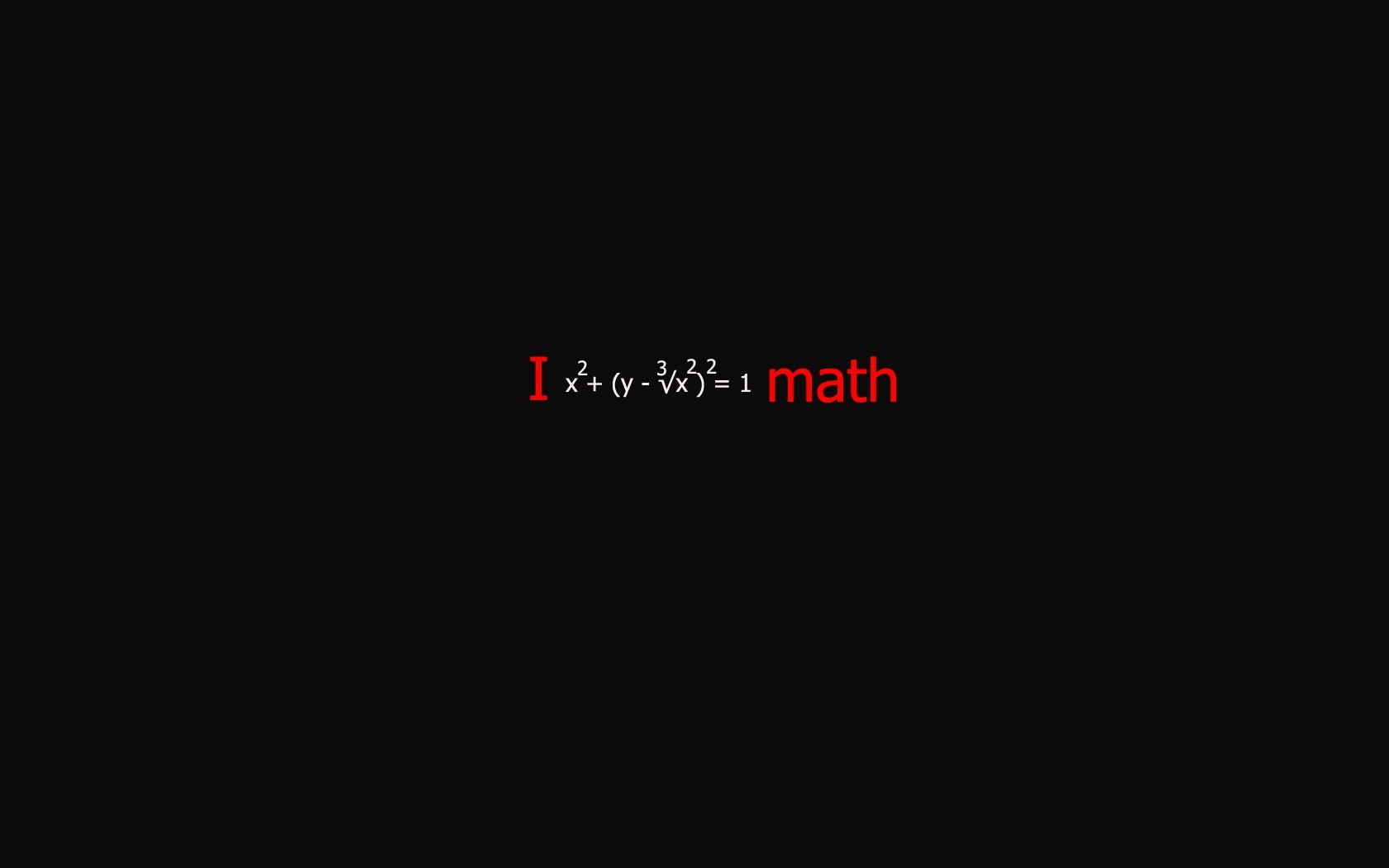 geek mathematics black background HD Wallpaper