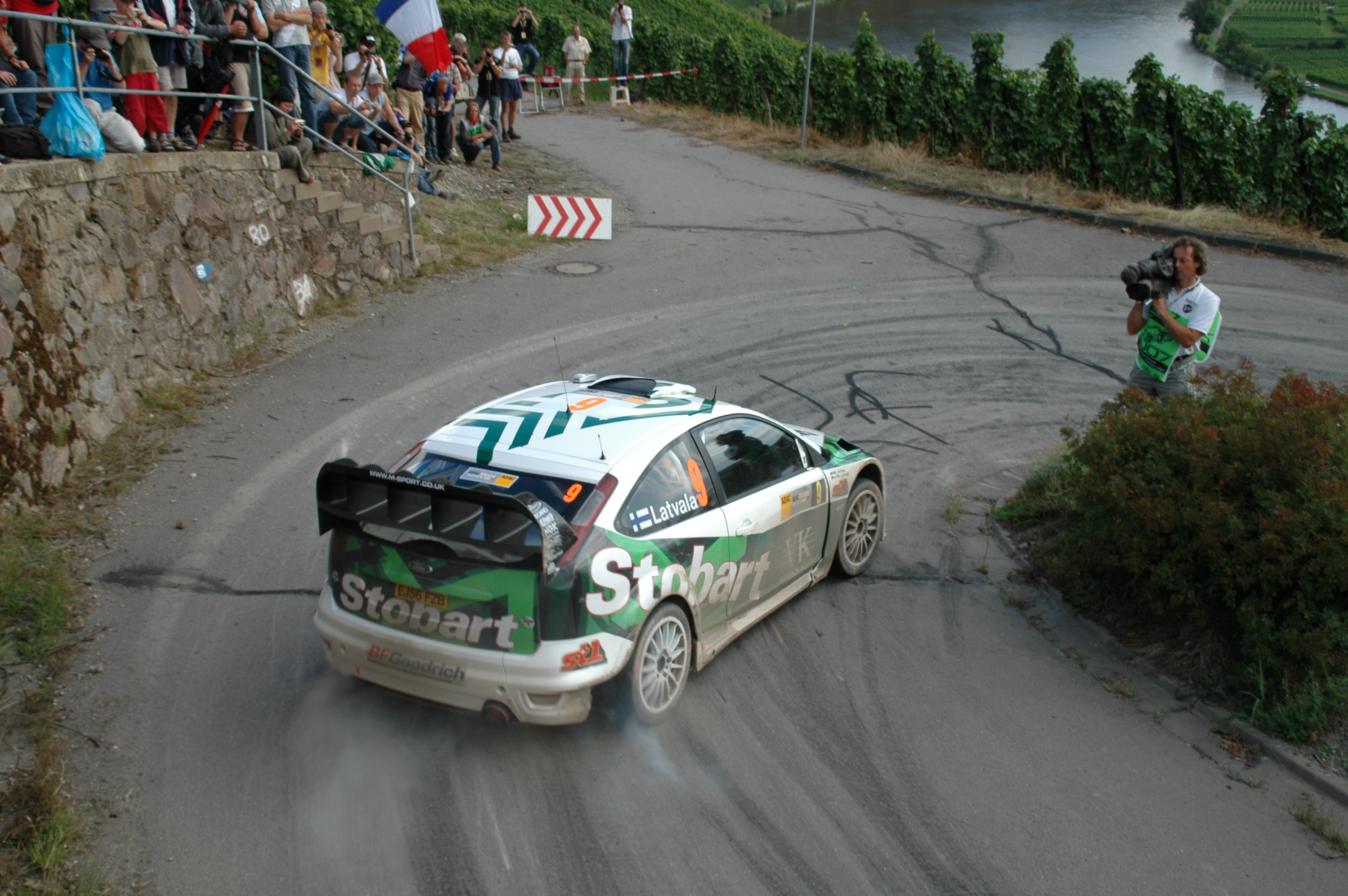 germany Ford rally drifting HD Wallpaper