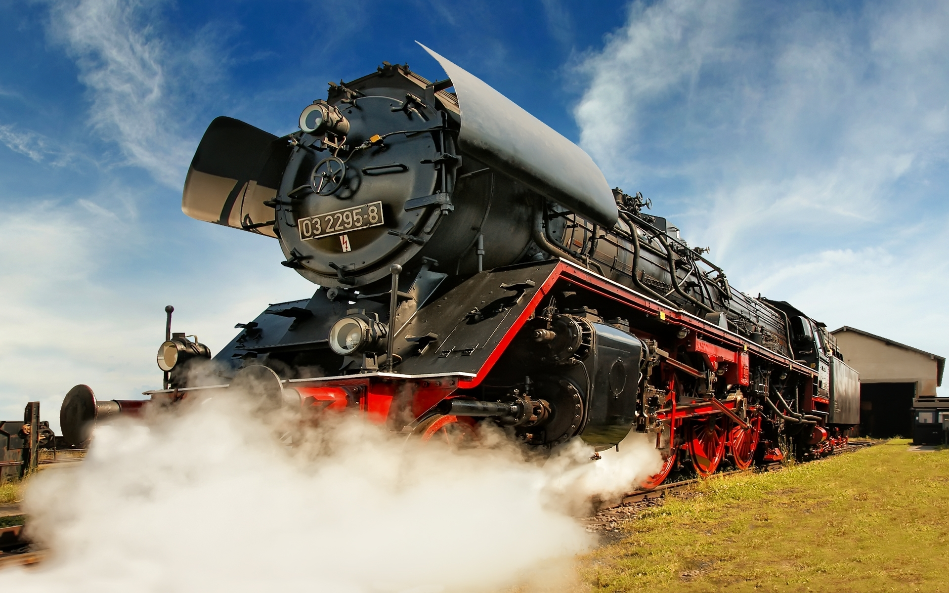 germany trains steam engine HD Wallpaper