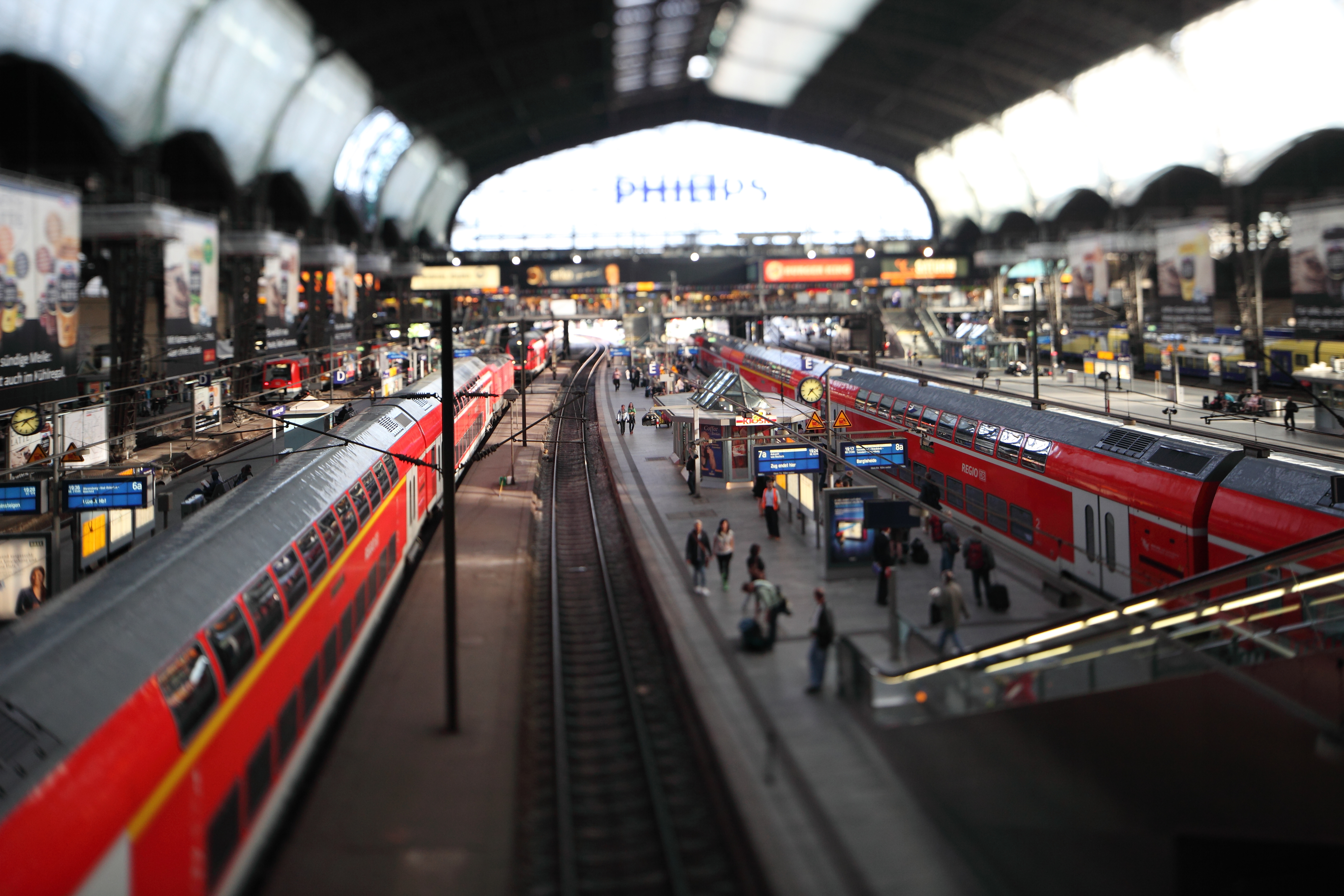 germany trains train stations HD Wallpaper