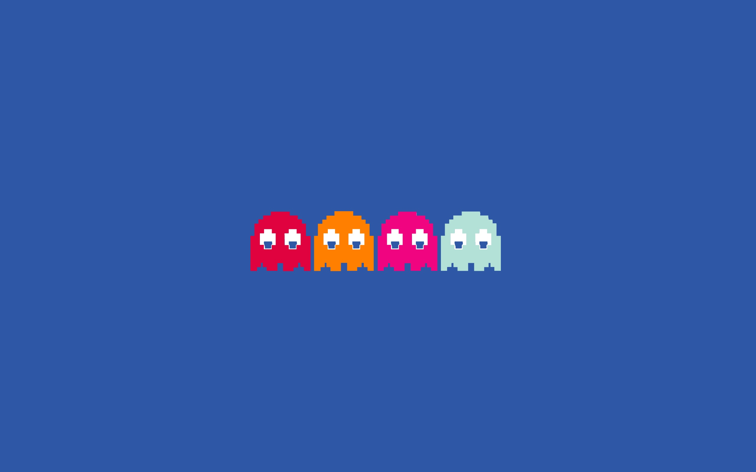 ghosts pac-man HD Wallpaper