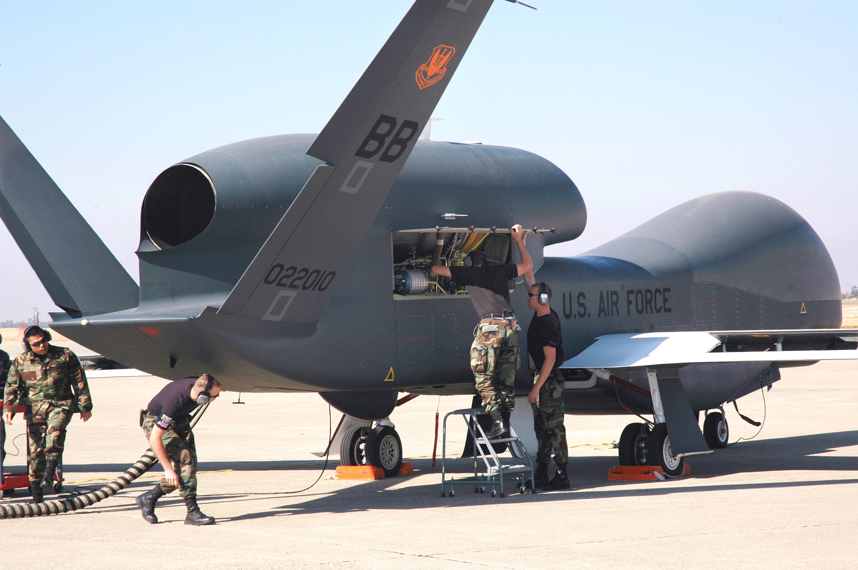 Global Hawk Aircraft uav HD Wallpaper