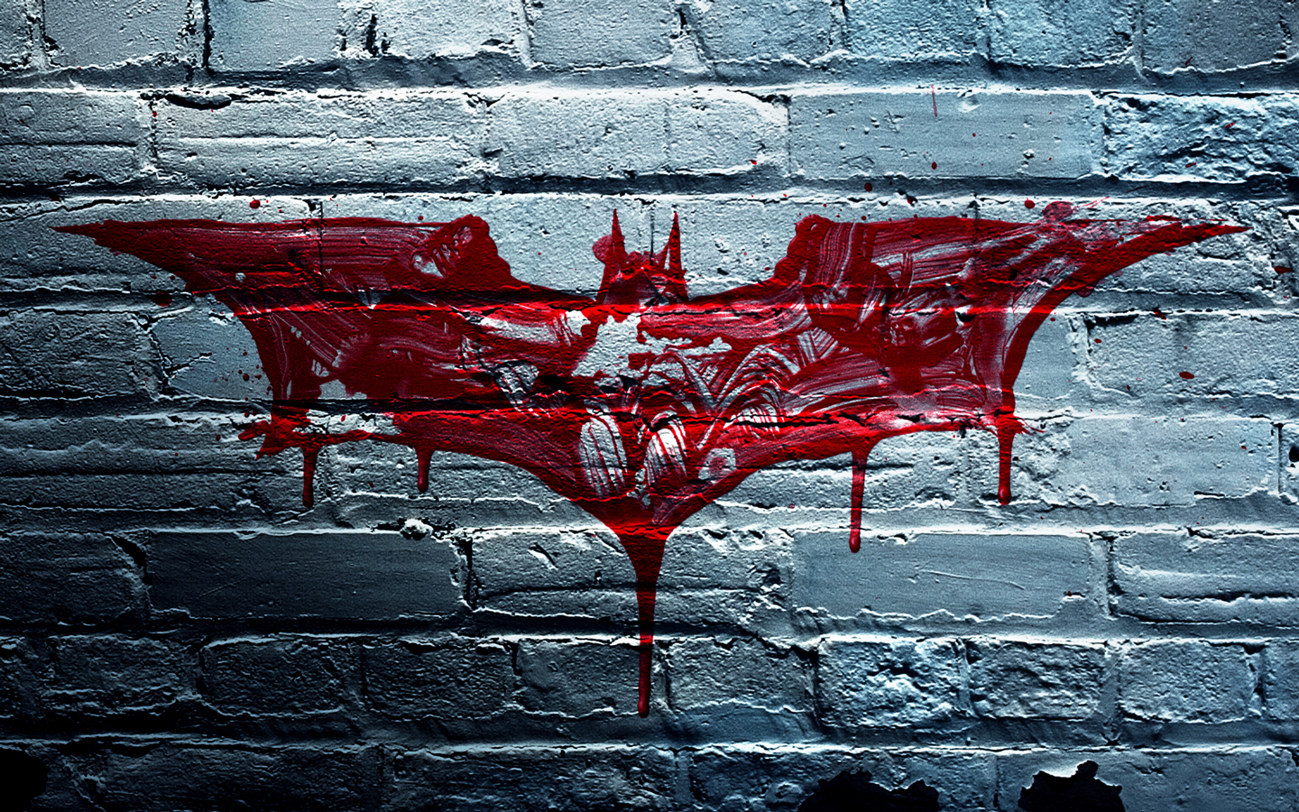 graffiti Batman Logo HD Wallpaper
