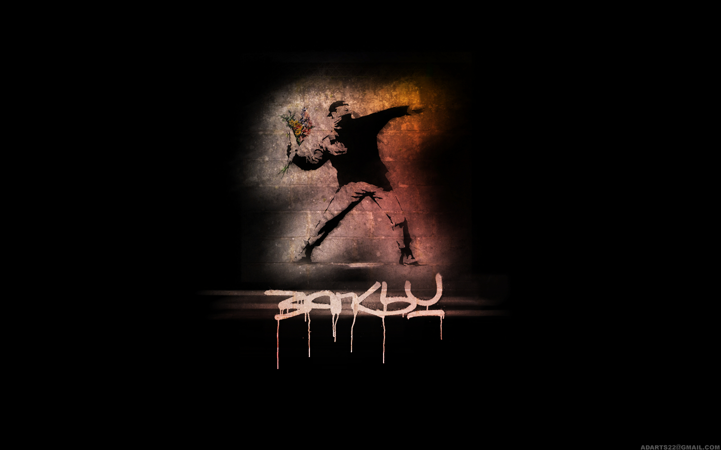 graffiti urban spray banksy HD Wallpaper