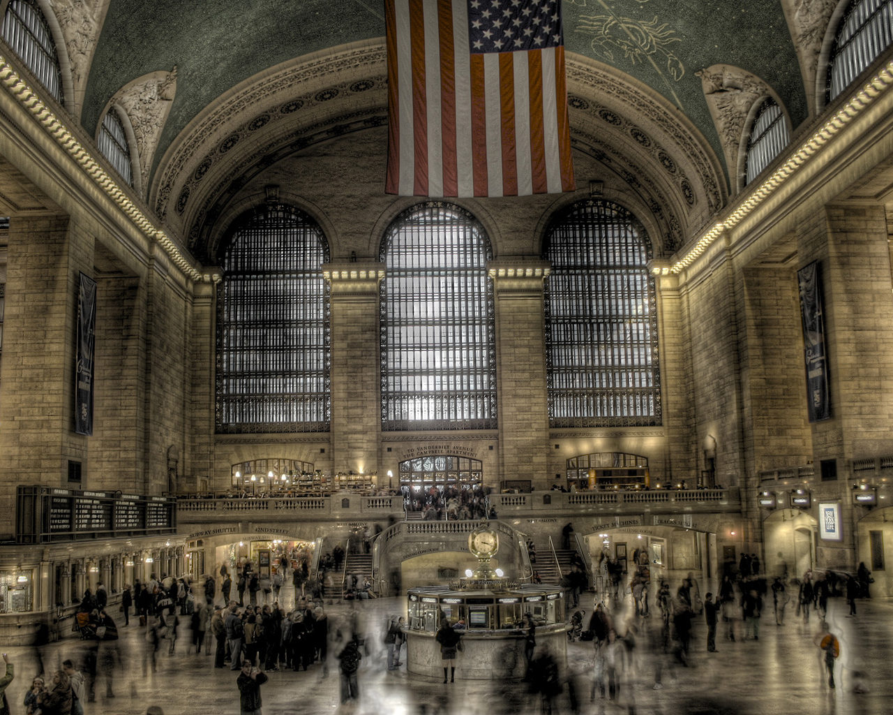 grand central Station architecture HD Wallpaper