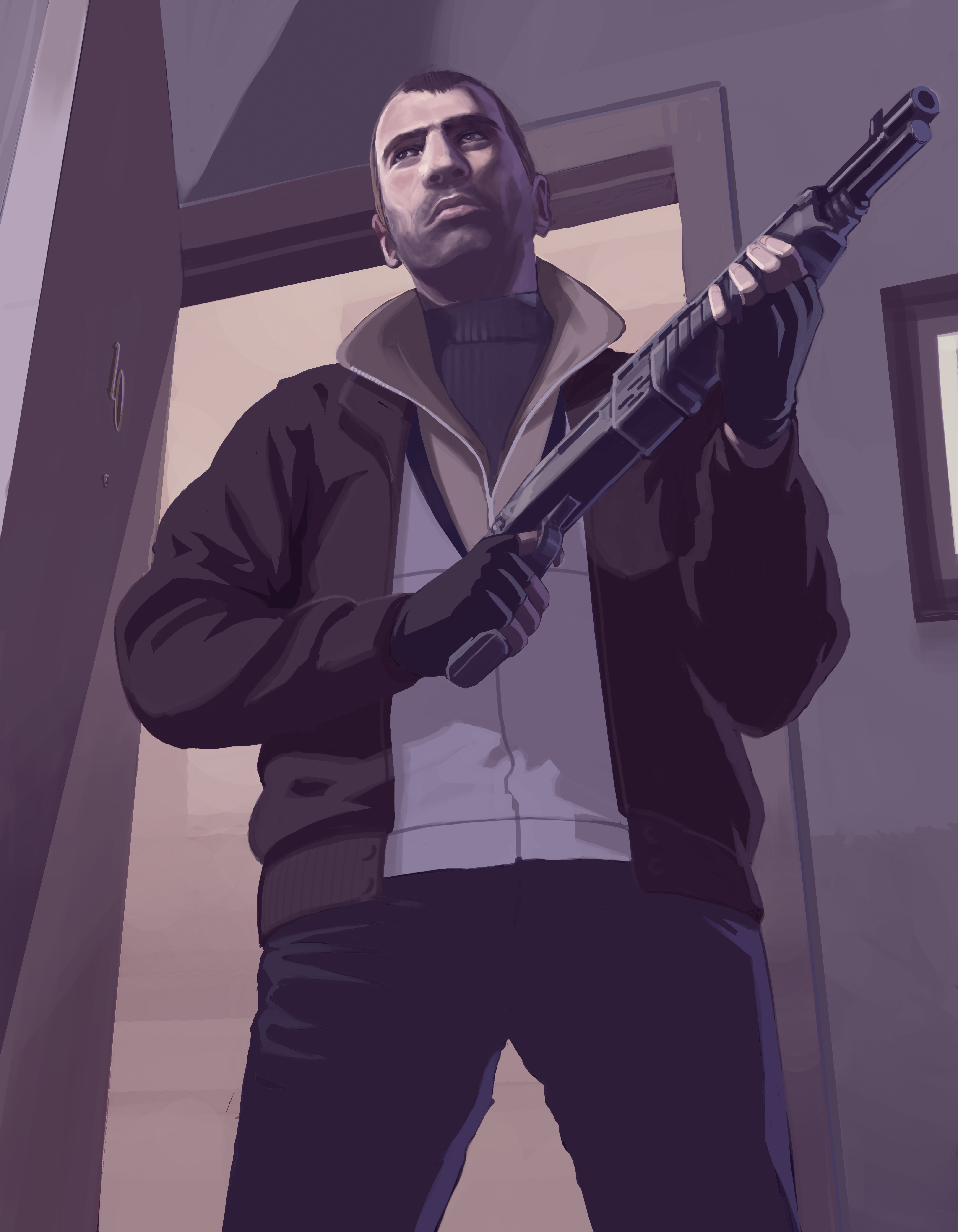 grand-theft-auto game gta Character HD Wallpaper