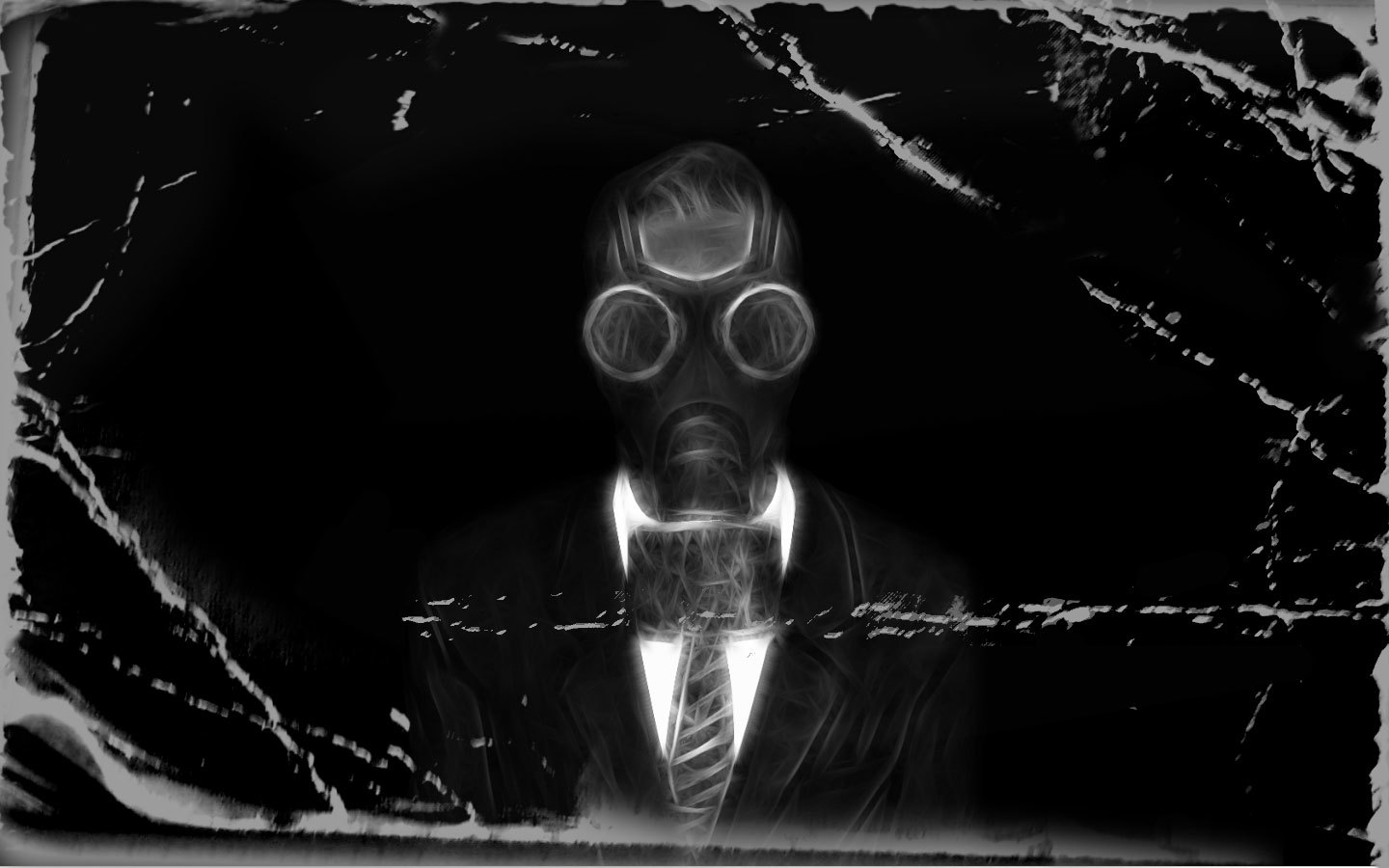 gray gas masks HD Wallpaper