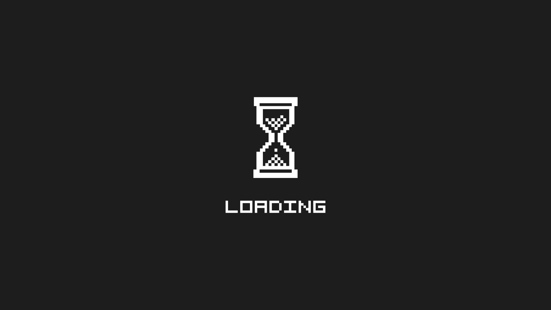 gray Loading hourglass HD Wallpaper