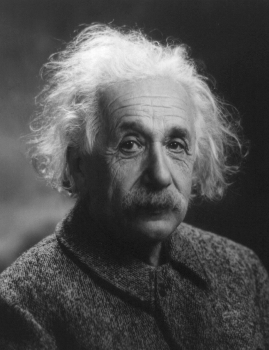 grayscale Albert Einstein monochrome HD Wallpaper