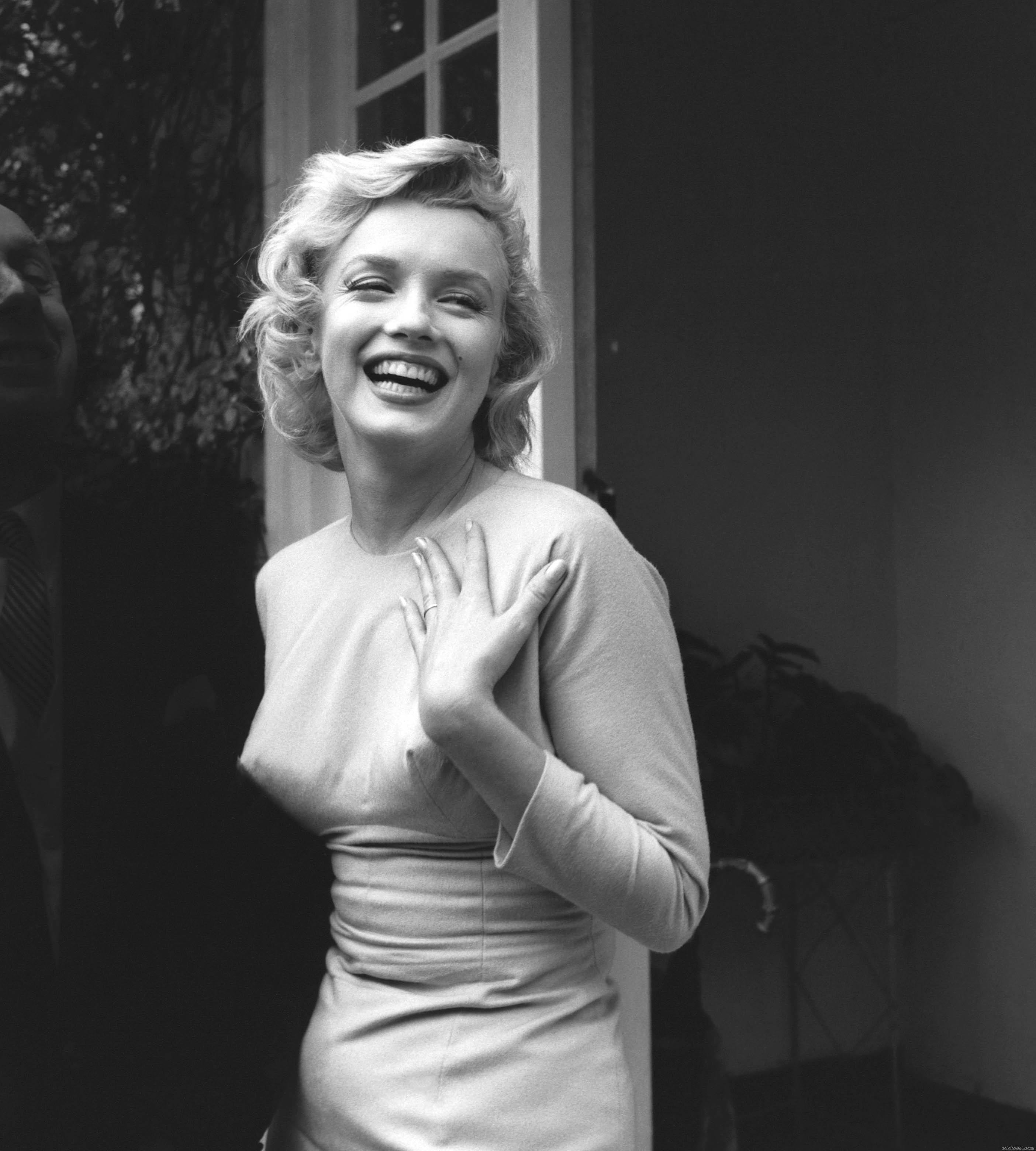 grayscale Celebrity marilyn Monroe HD Wallpaper