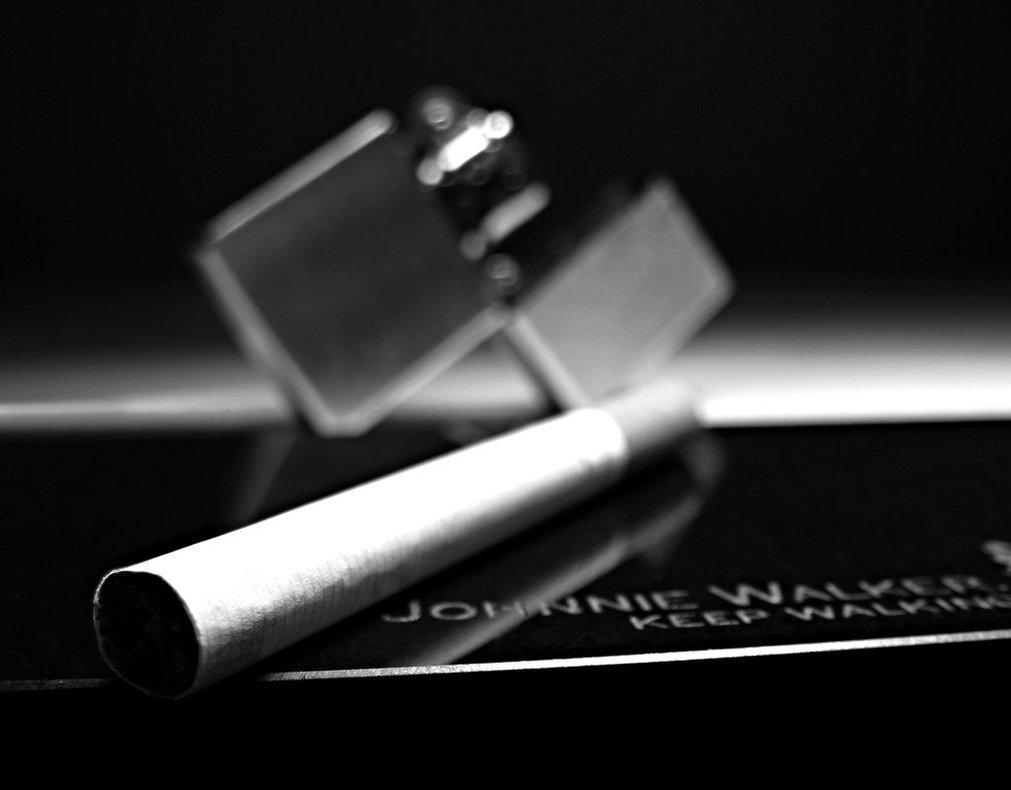 grayscale Cigarettes lighters johnnie HD Wallpaper