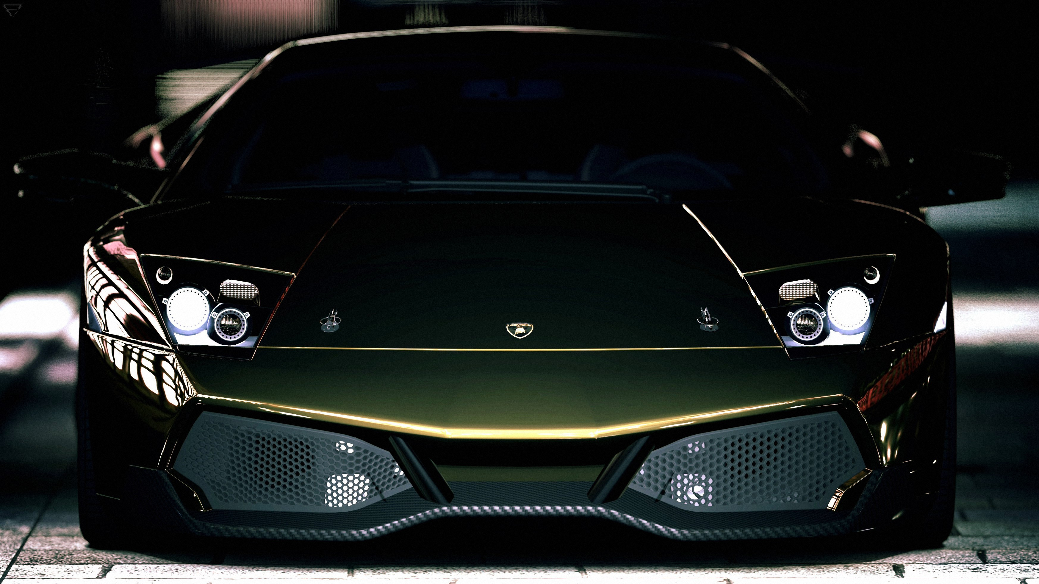 Green cars Lamborghini Lamborghini HD Wallpaper
