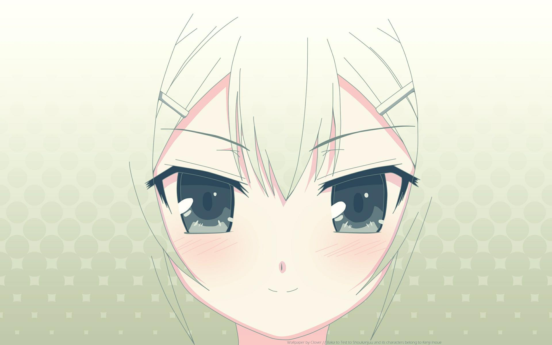 Green eyes baka to HD Wallpaper