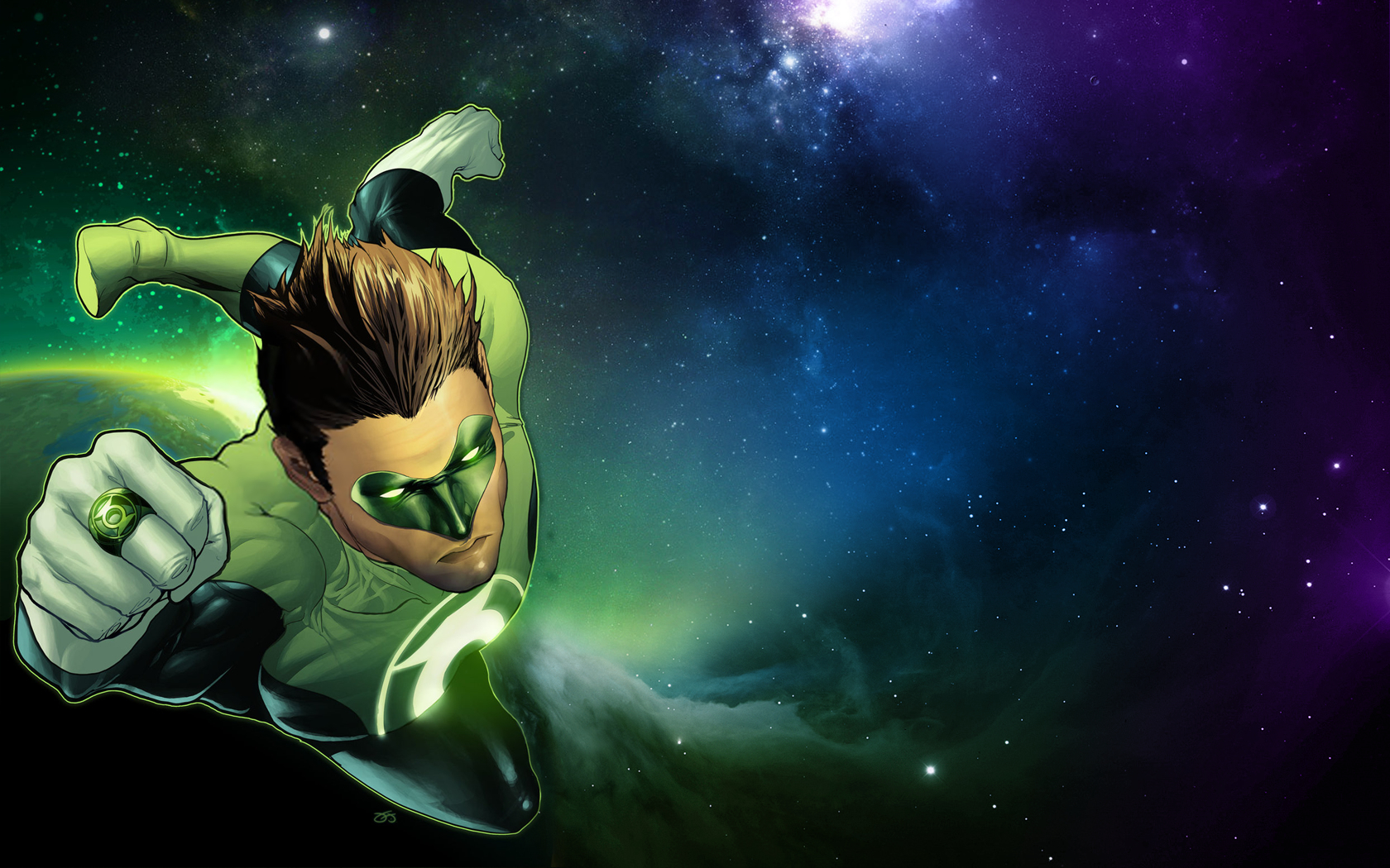 Green lantern dc comics HD Wallpaper