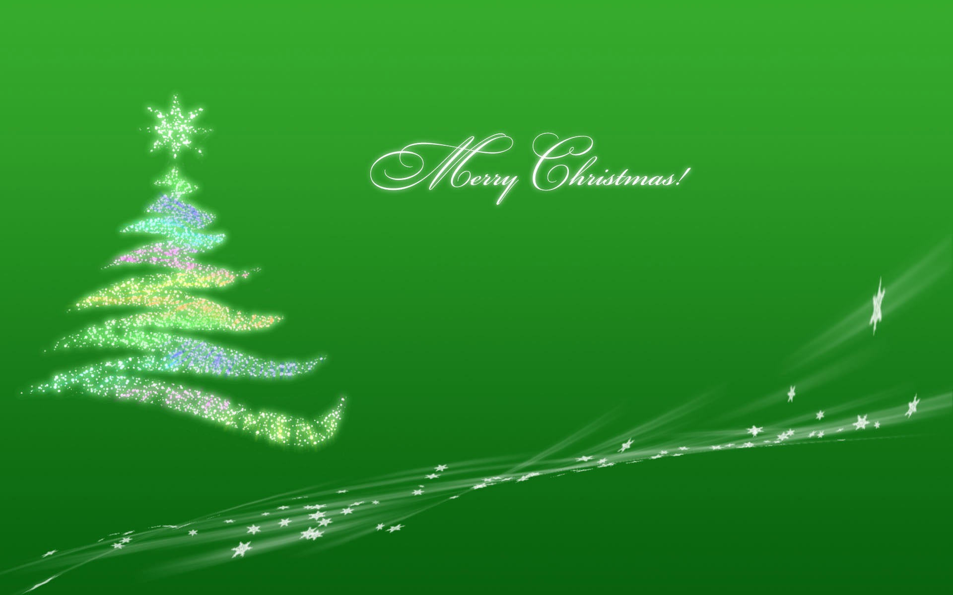 Green nature Christmas Christmas HD Wallpaper