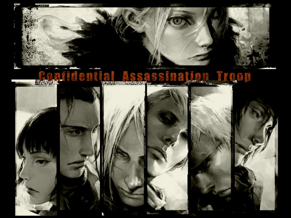 group Anime cellar C.A.T.-Confidential Assassination Troop HD Wallpaper