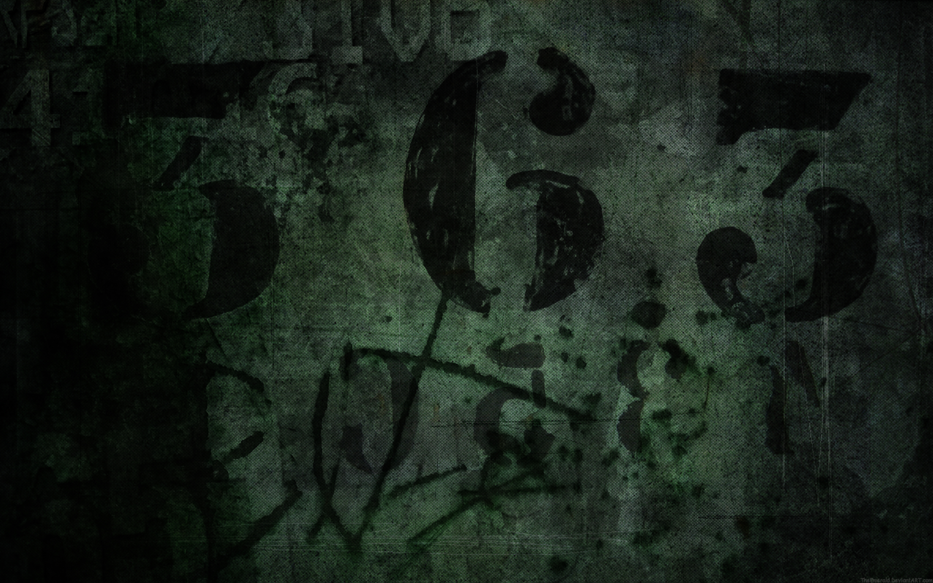grunge numbers HD Wallpaper
