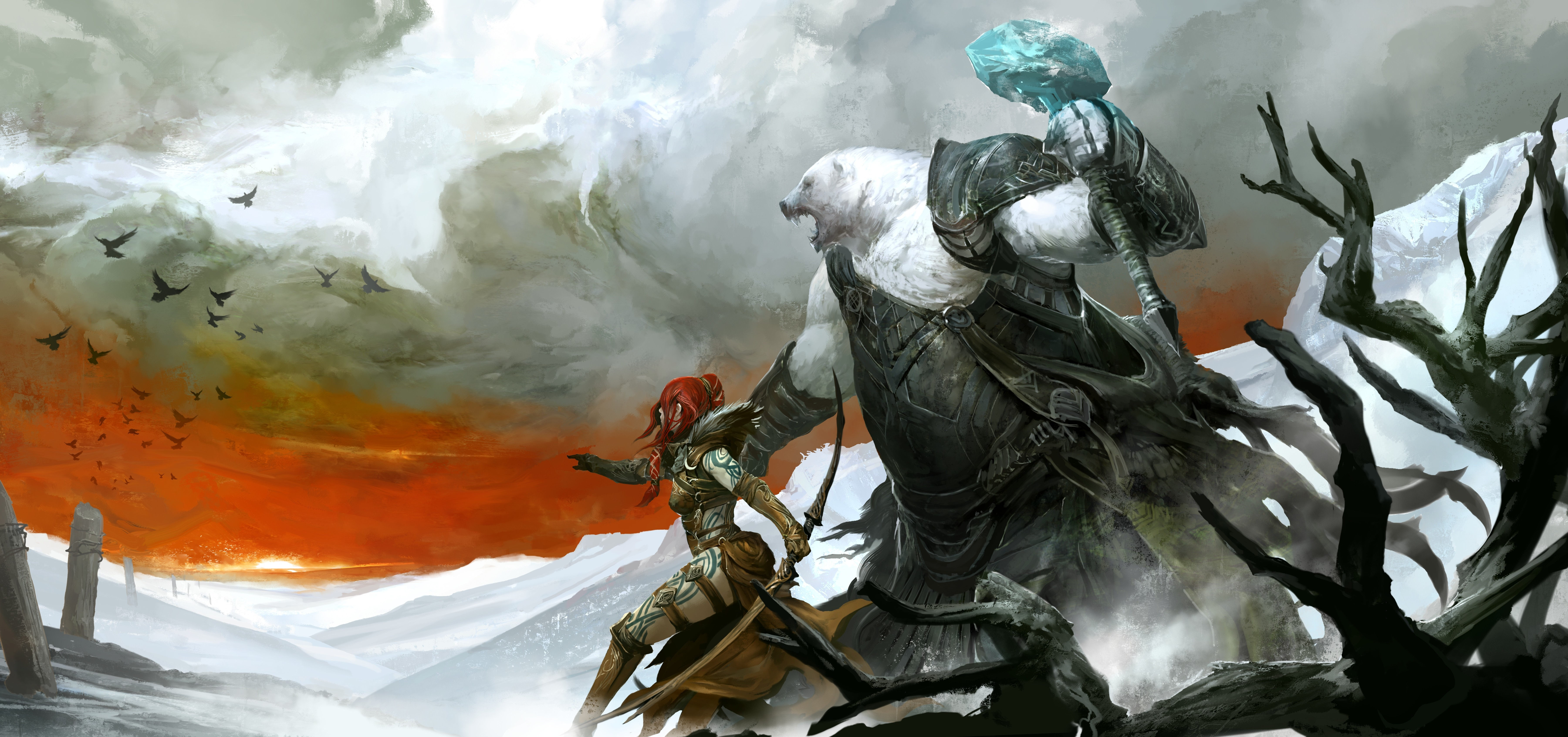 guild wars 2 Eir HD Wallpaper