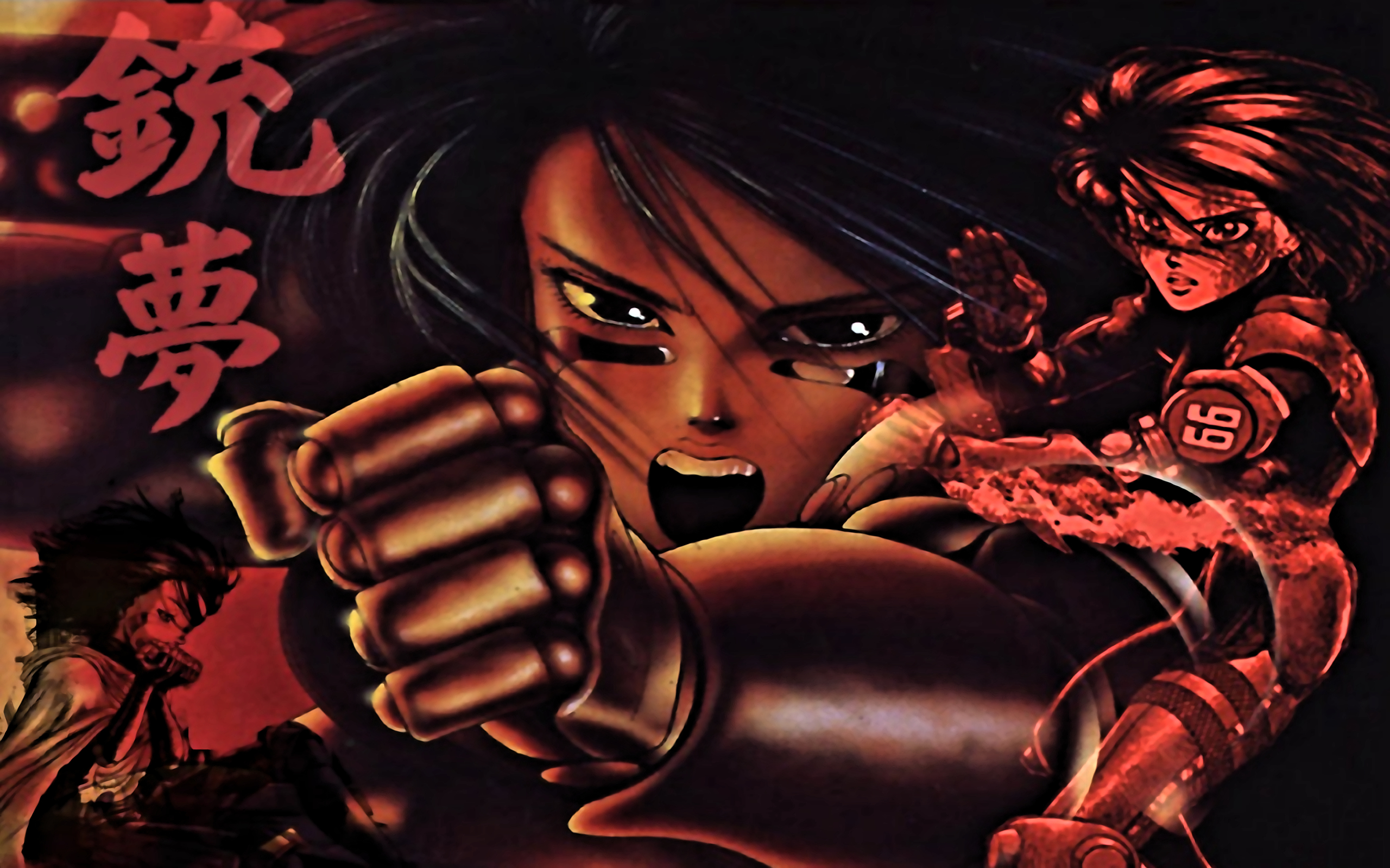 Gunnm battle angel alita HD Wallpaper
