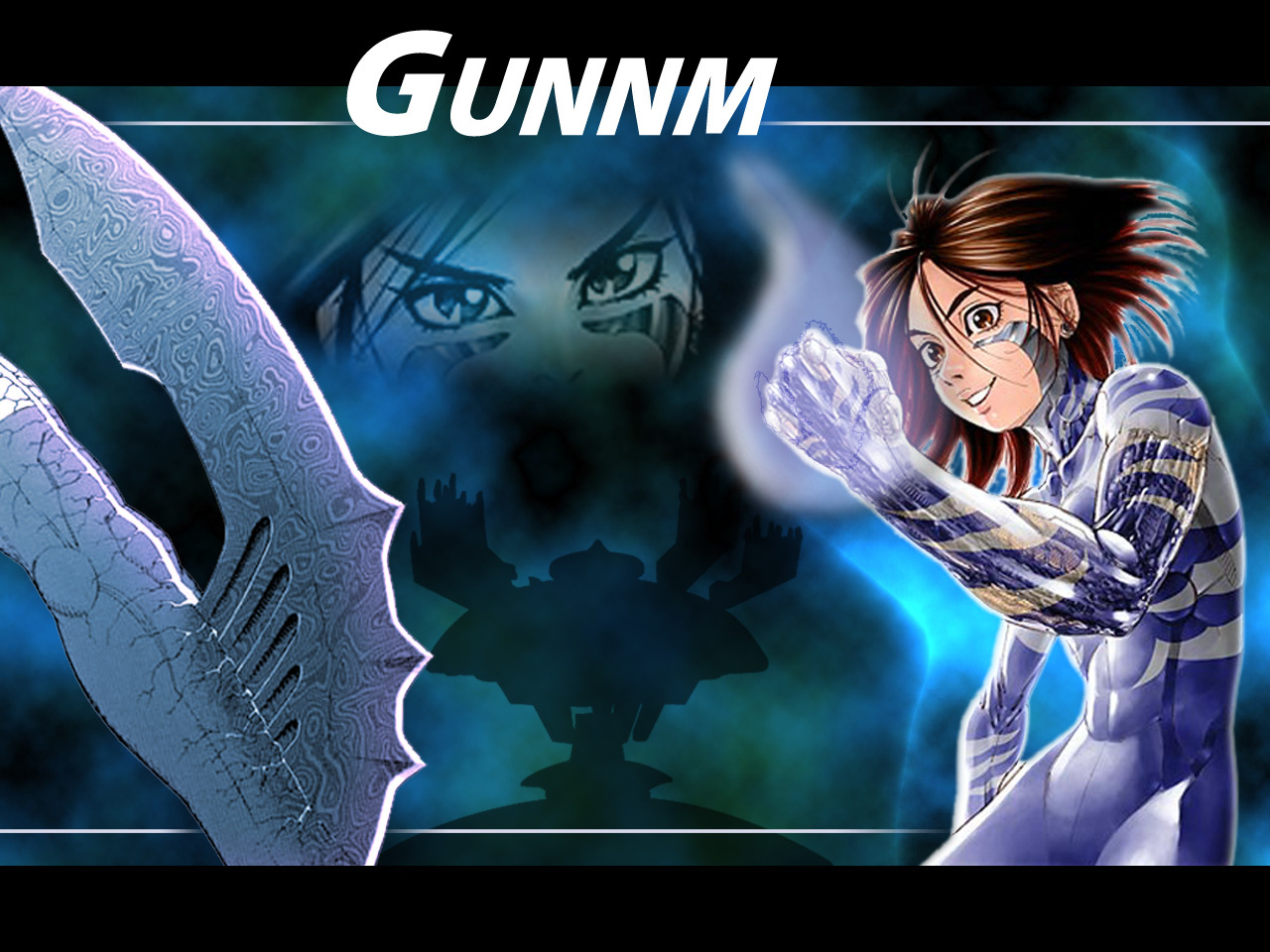 Gunnm ty HD Wallpaper