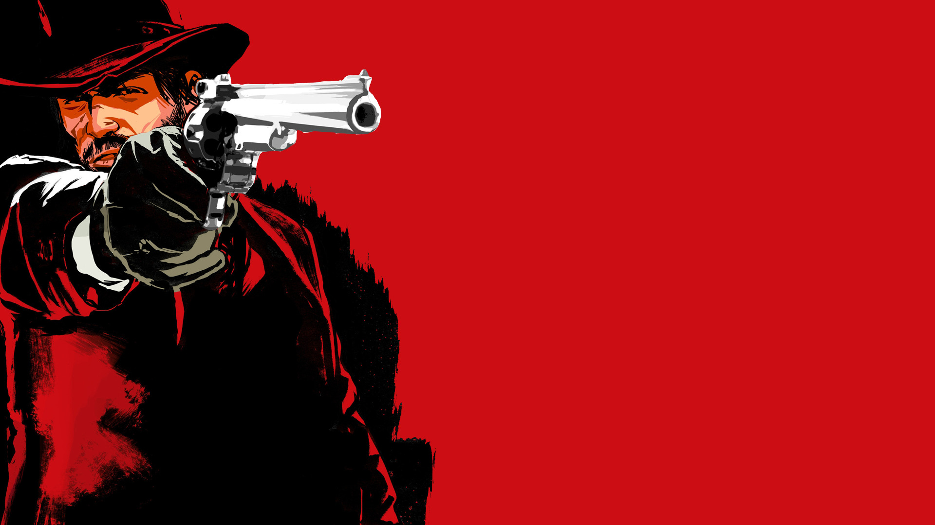 Guns Cowboys red dead HD Wallpaper
