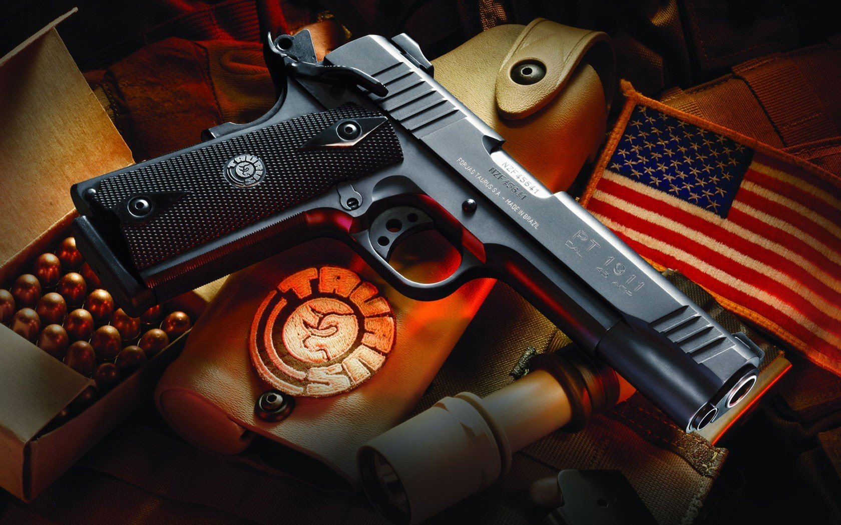 Guns M1911 Taurus HD Wallpaper