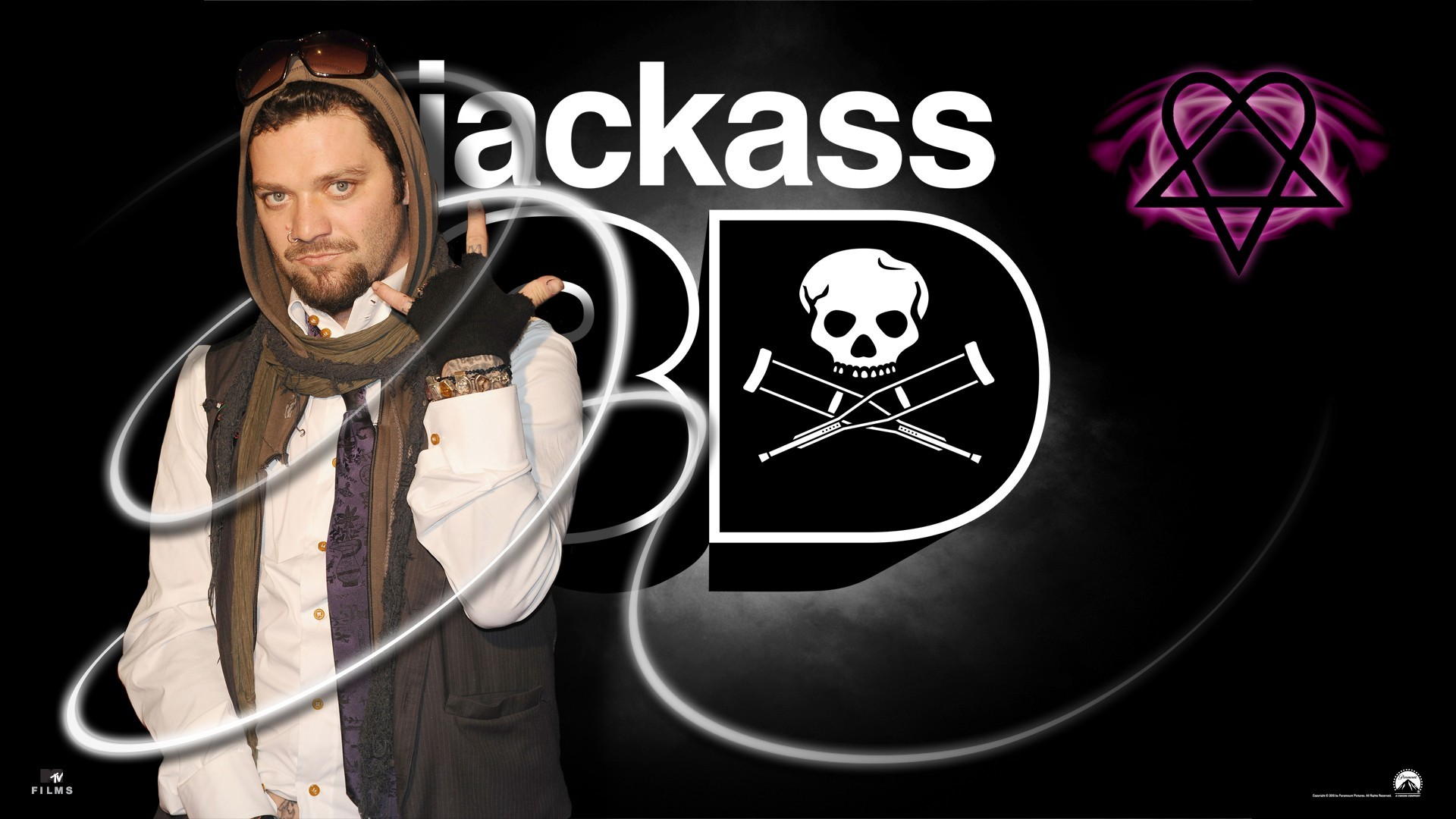 H.I.M Bam Margera Jackass HD Wallpaper