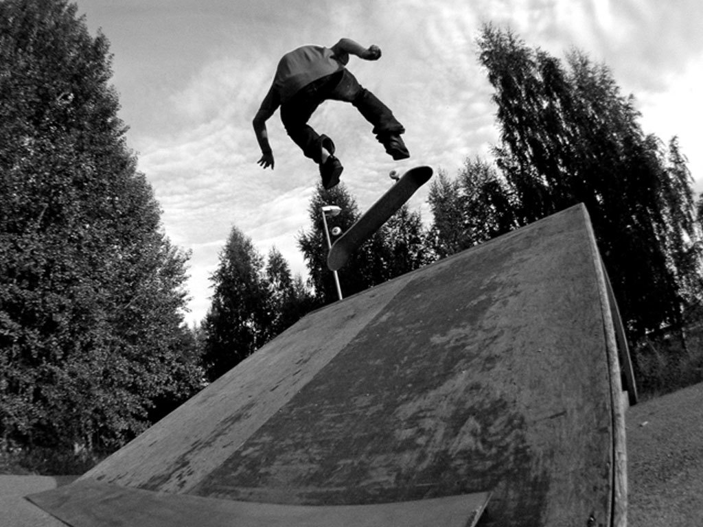 half Pipe skater we HD Wallpaper