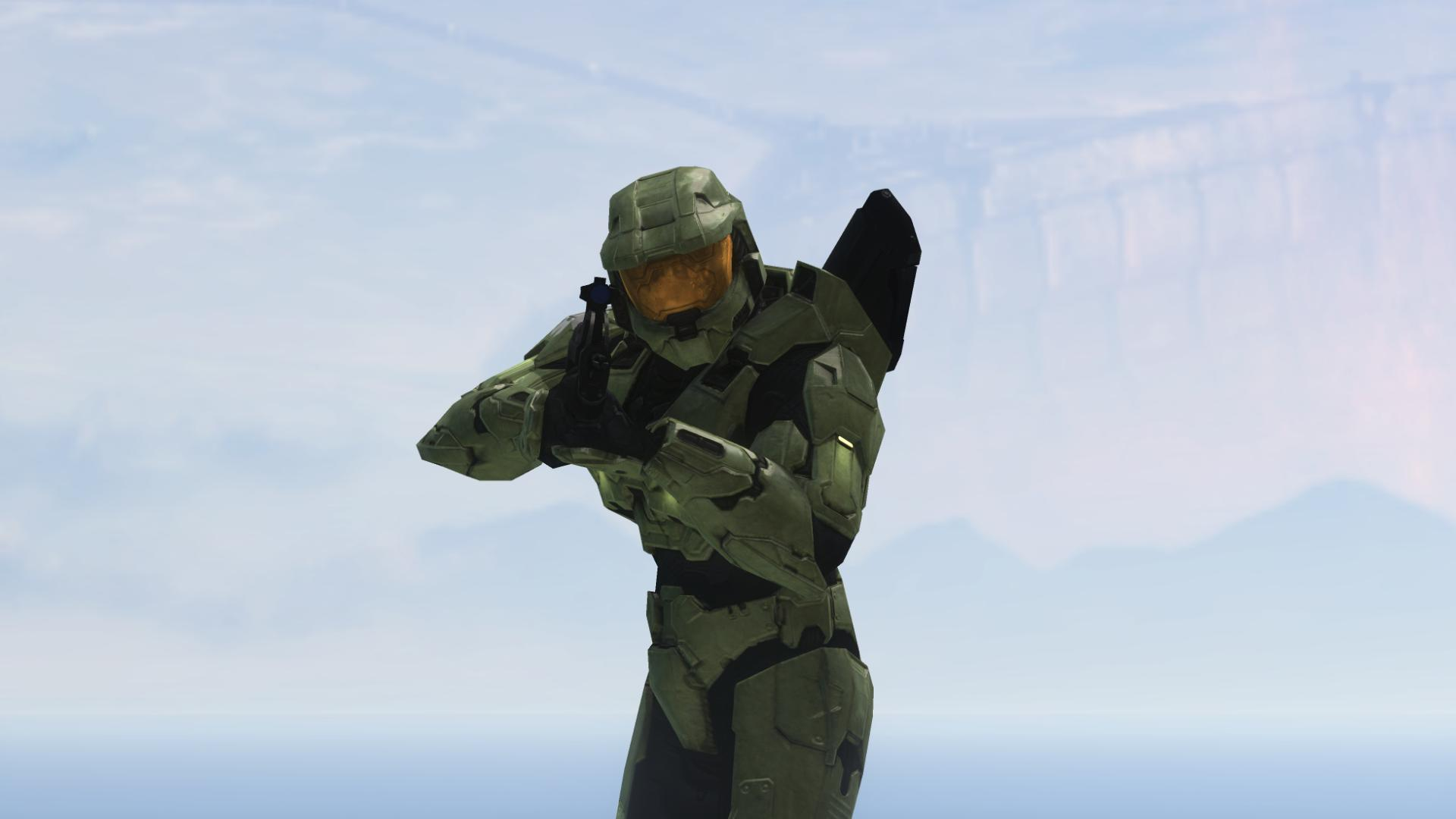 halo master Chief game HD Wallpaper