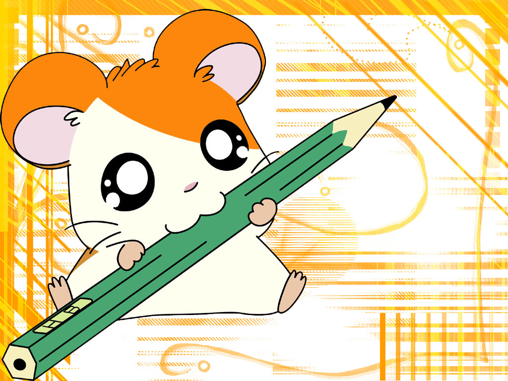 hamtaro Pencils hamutaro pencil HD Wallpaper