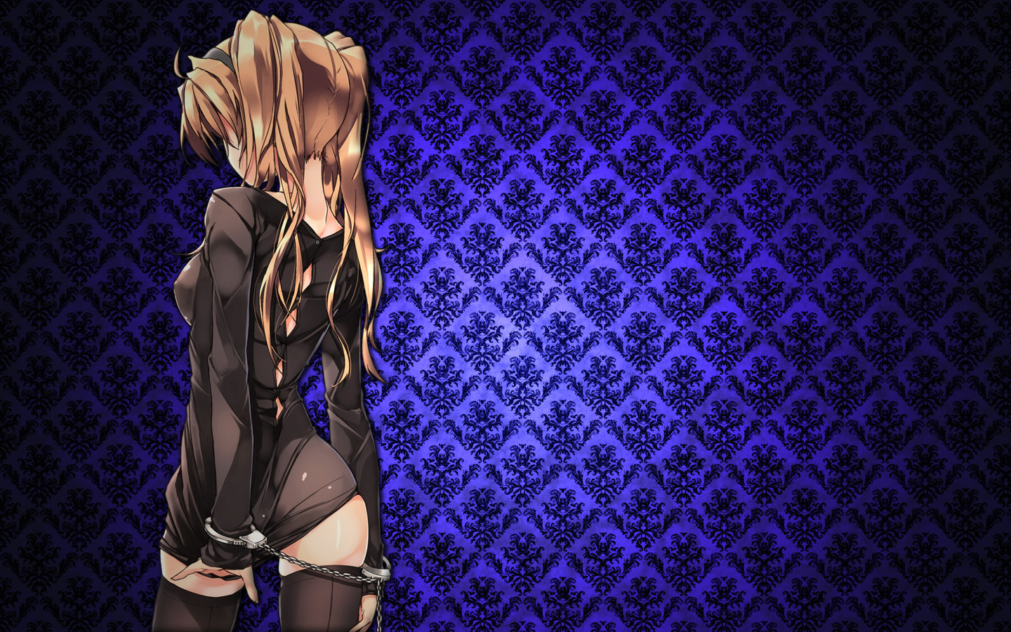 handcuffs backview Anime HD Wallpaper