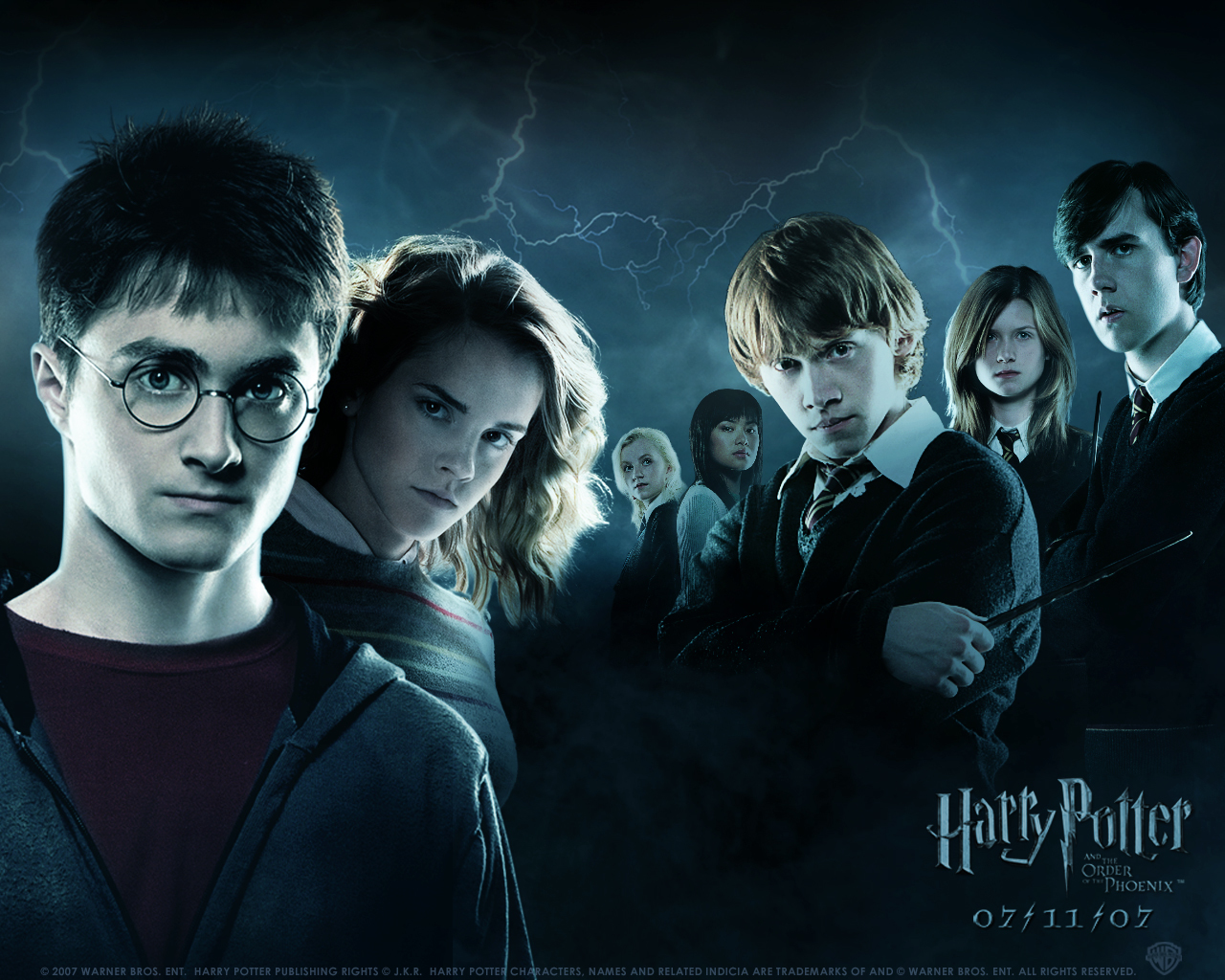 Harry Potter and The HD Wallpaper