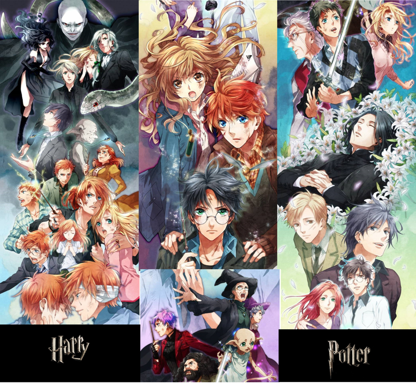 harry potter drawings Anime HD Wallpaper