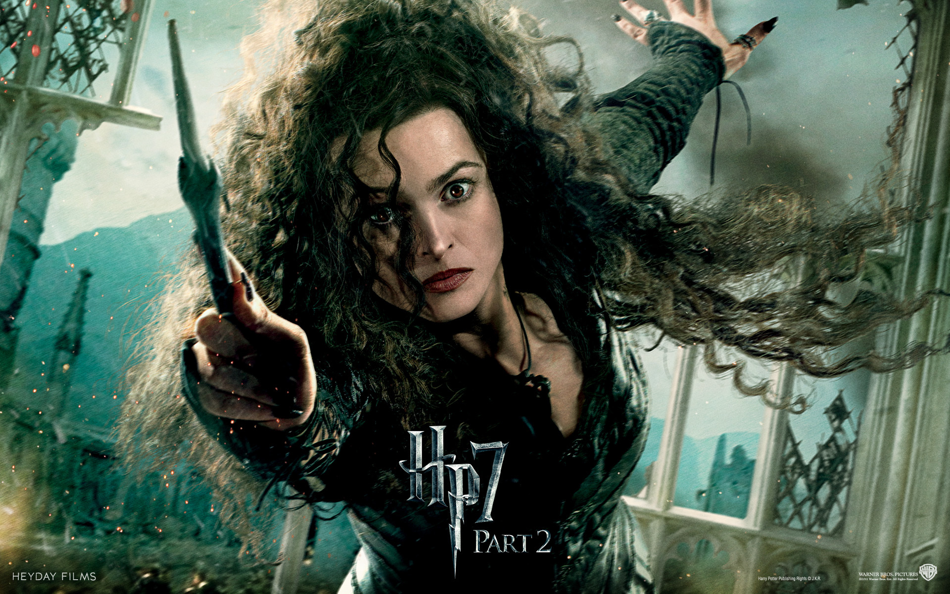 harry potter Helena Bonham HD Wallpaper