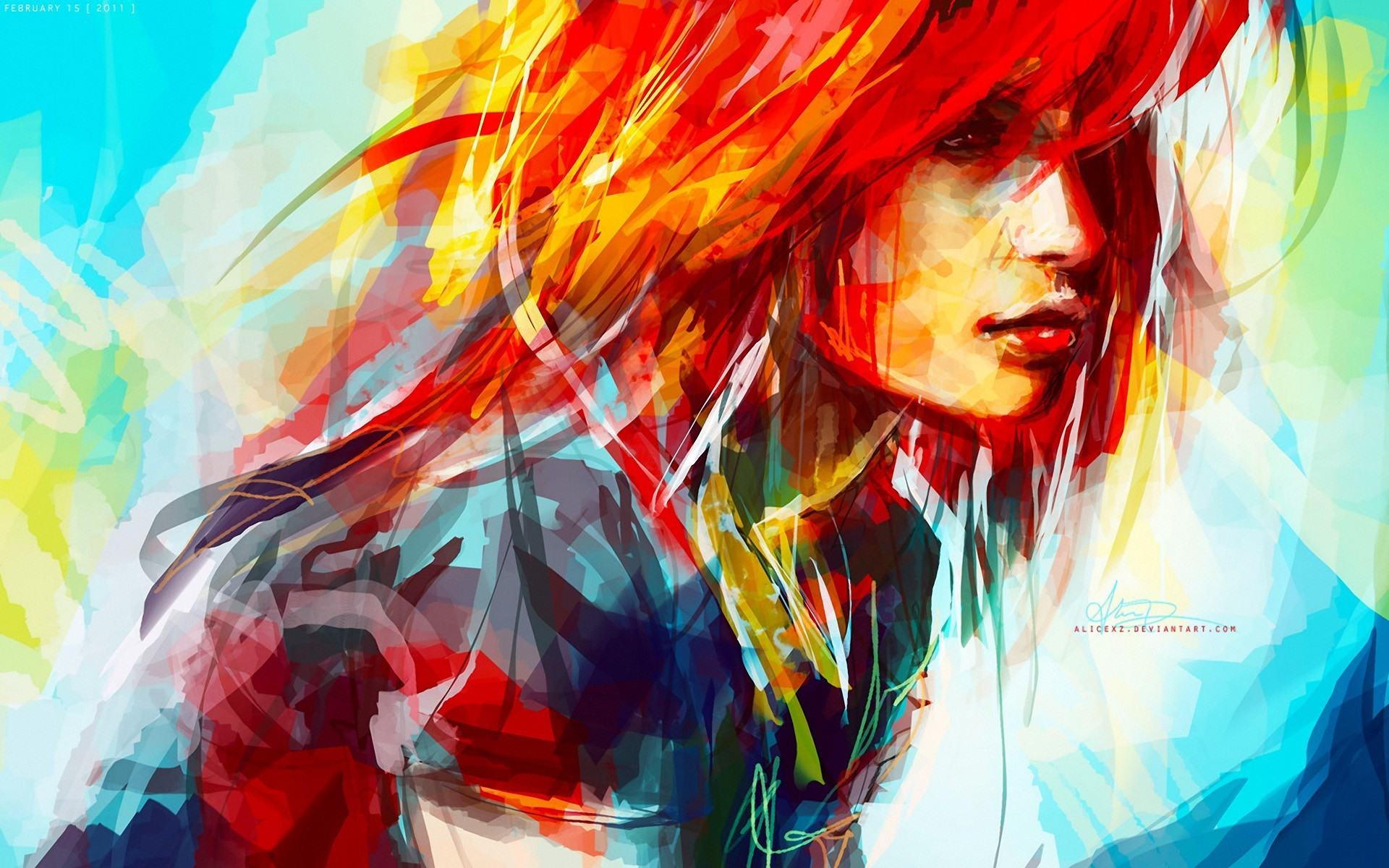 hayley williams paintings artwork HD Wallpaper