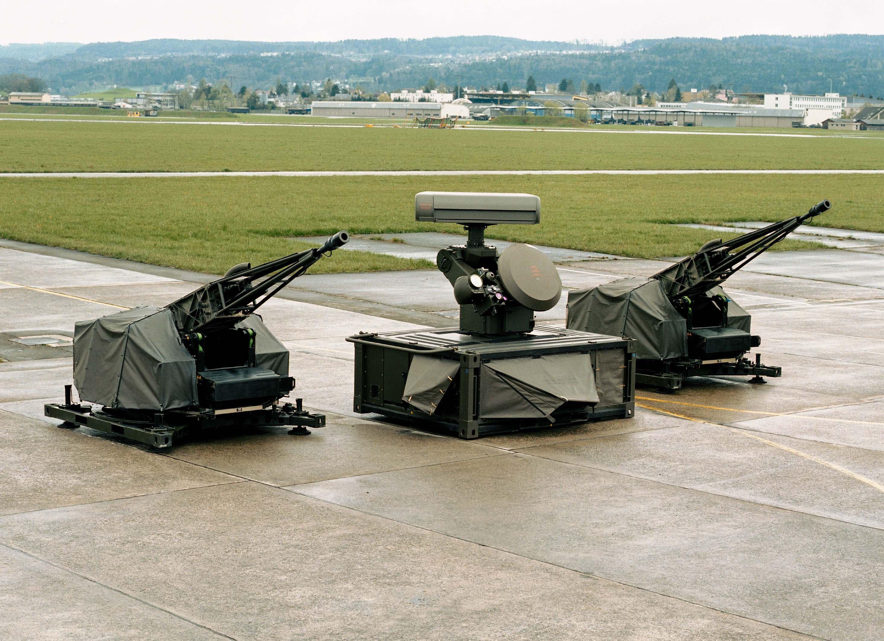 teknologi,meriam kembar,perisai udara