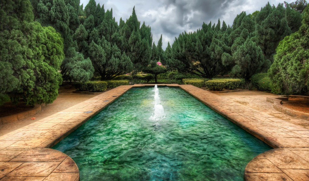 HDR Photography swimming pools HD Wallpaper